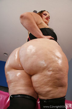 Big Pear Fat Ass BBW Butt