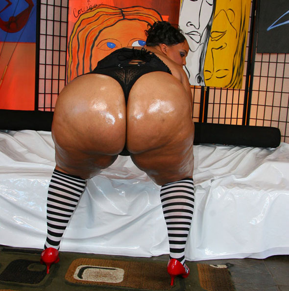 Big Ass Black Stripper Fucked