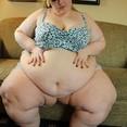 Chubby Belly Fat BBW