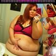 Big Heavy SSBBW Belly Play