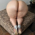 Huge BBW Heart Shaped Pear Ass