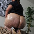 Huge Big Booty Oiled BBW Ass
