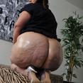 Huge Big Booty Oiled BBW Ass